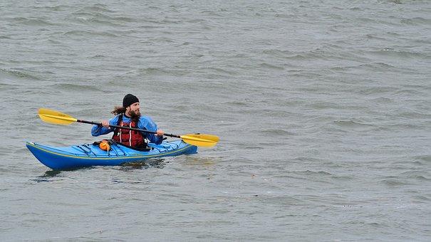 Kayak, Kayaker, Water, Kayaking, Sport