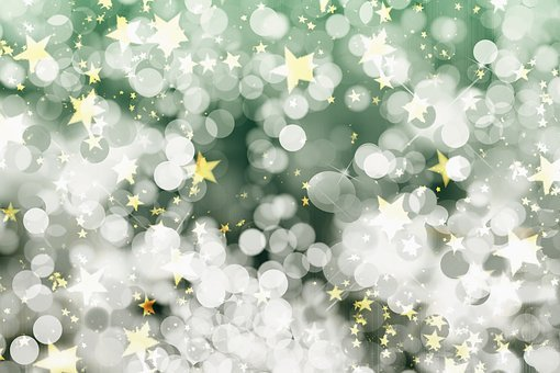 Background Abstract Christmas Bokeh L