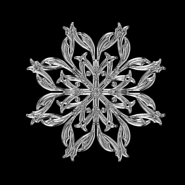 Free Illustration Ice Crystal Ice Form Frost Free
