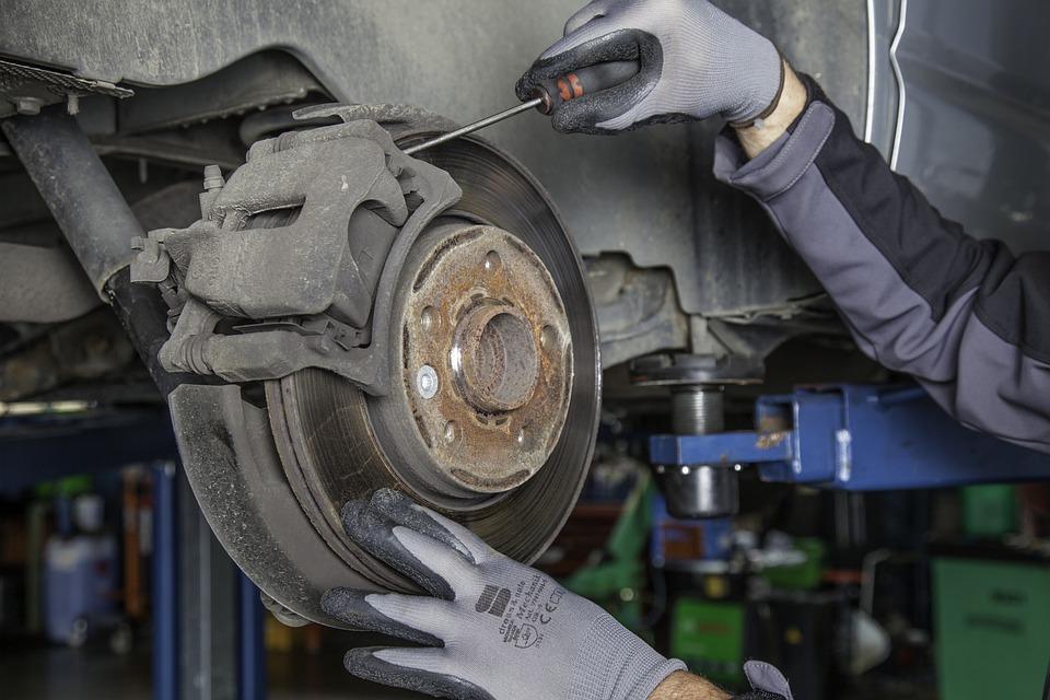 Brake Disc, Workshop, Automobile, Service, Mechanic