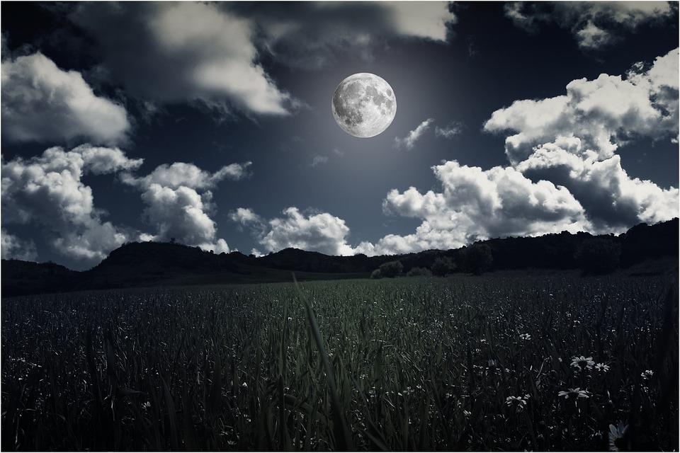 Landscapes Moon Night Full · Free Photo On Pixabay