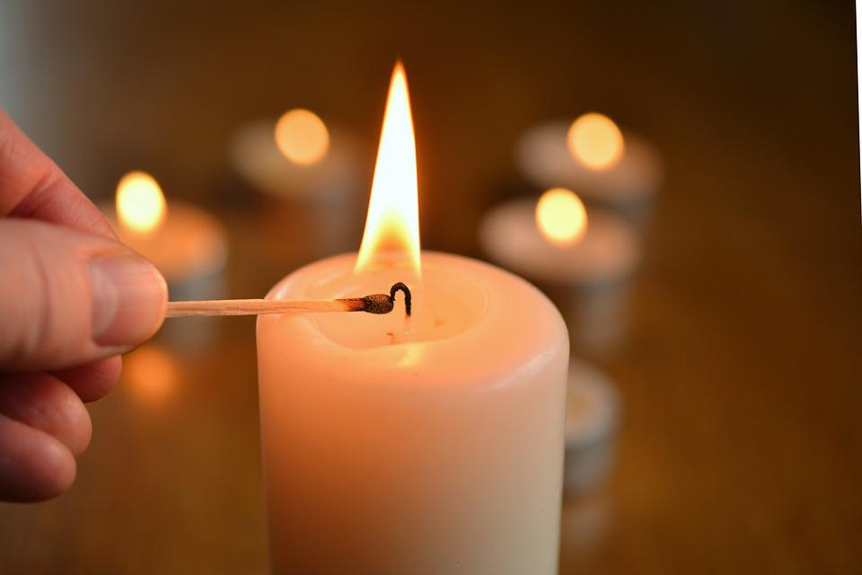 Candle, Light Candle, Kindle, Flame, Candlelight, Burn