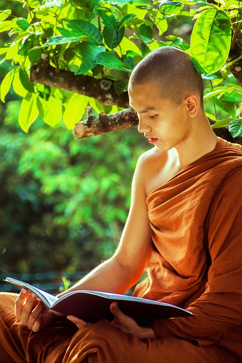 kostenloses foto theravada m246nch buddhistische