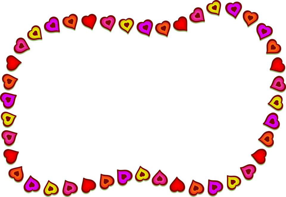 Free vector graphic: Hearts, Shapes, Border, Frame - Free Image on ...