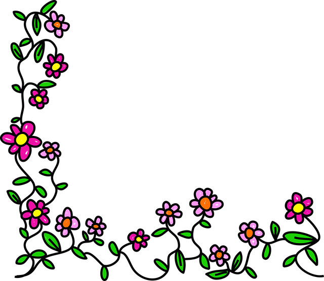 Flowers Doodle Whimsical · Free vector graphic on Pixabay