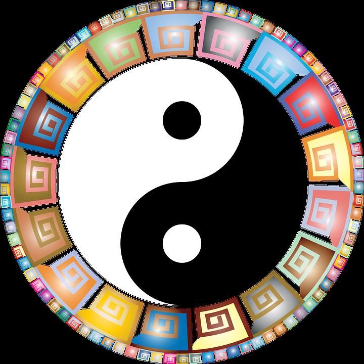 Yin, Yang, Østlige, Asiat, Filosofi, Balance, Harmoni