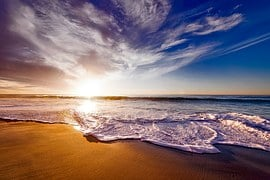 California, Sunset, Dusk, Sky