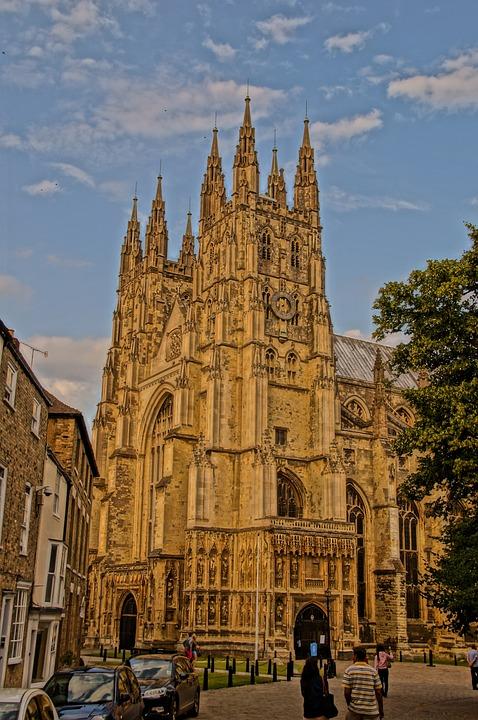 Canterbury Catedral Inglaterra Foto Gratis En Pixabay