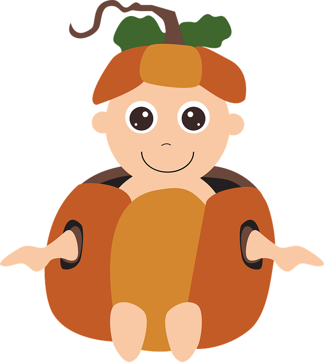 Halloween Costume Pumpkin Baby Free Vector Graphic On Pixabay
