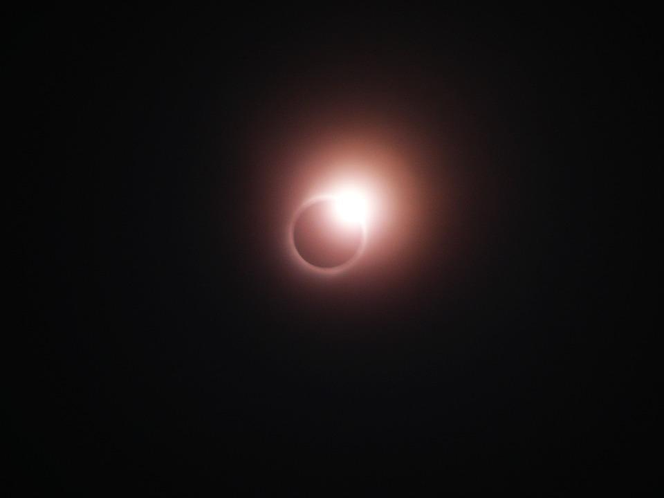 皆既日食, リング, 中国