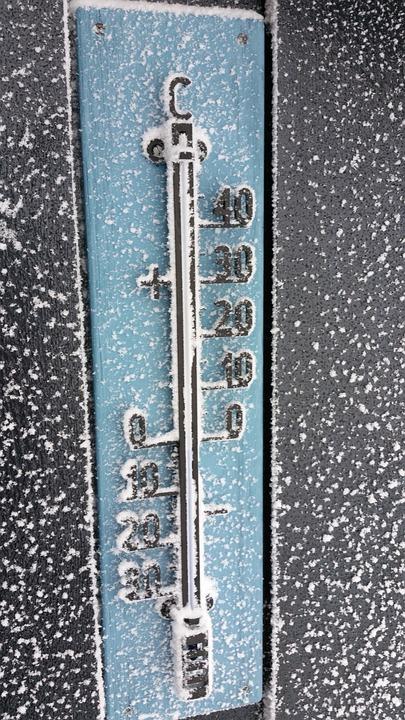 Stopień Trzciny, Termometr, Oziębłość, Śnieg, Zima