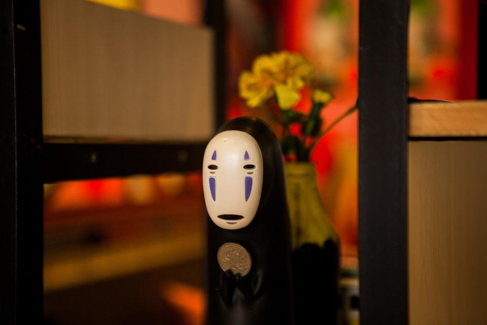 no face-spirited away