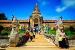 measure, pagoda, buddhism