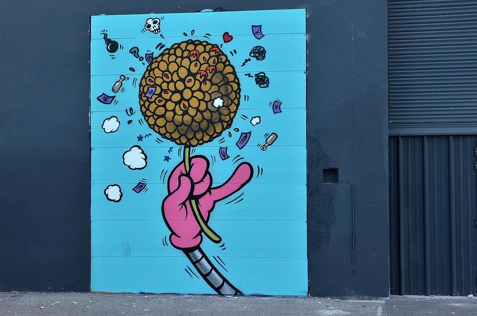 Download 450 Koleksi Gambar Grafiti Bunga  Gratis HD