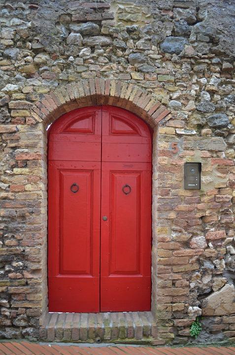 Red Door Home Entrance 5 Five