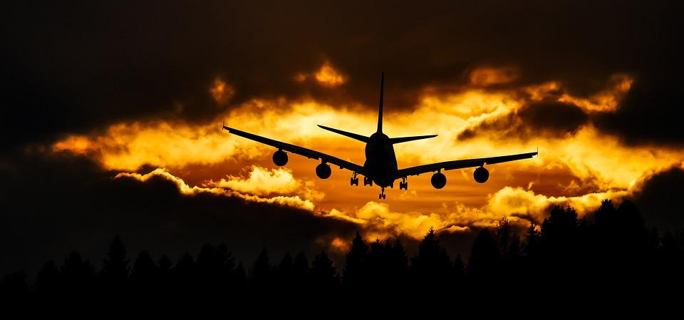 Voyage, En Volant, Aéronefs, Ciel, Sunset, Humeur