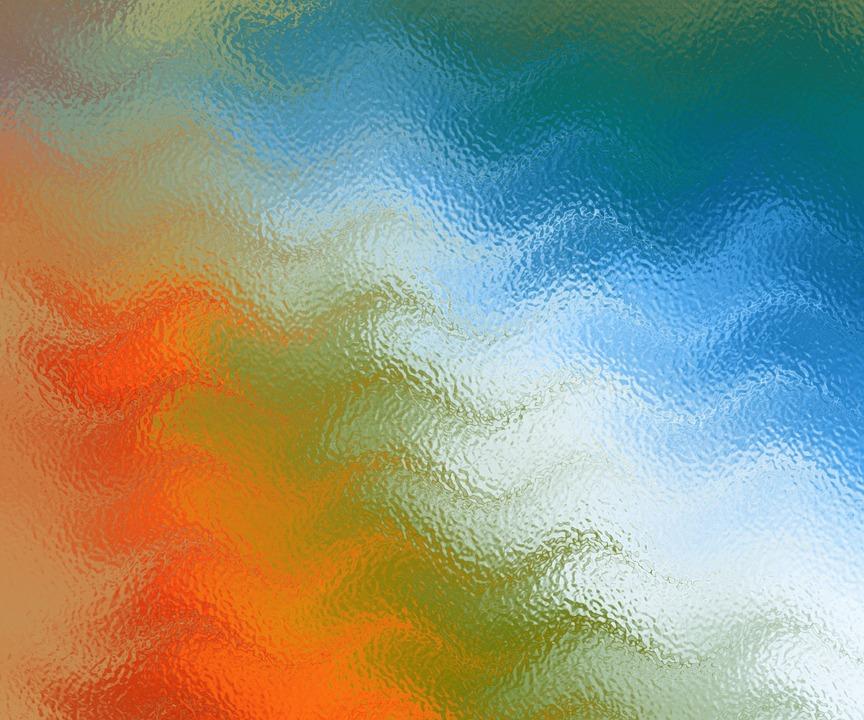 textura cristal colores arcoiris vidrio