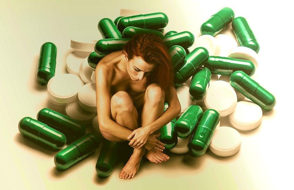 Medicine, Malattia, Dottore, Donna, Magra, Guarire