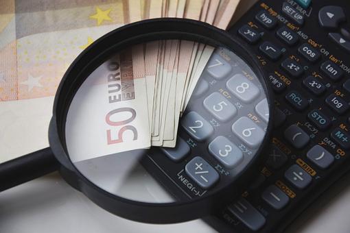 アプリケーション, お金, 貨幣電卓, 電卓, 計算, 賞, コスト, テーブル