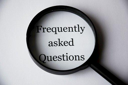 検索, ヘルプ, よくある質問, 虫眼鏡, 頻繁に尋ね
