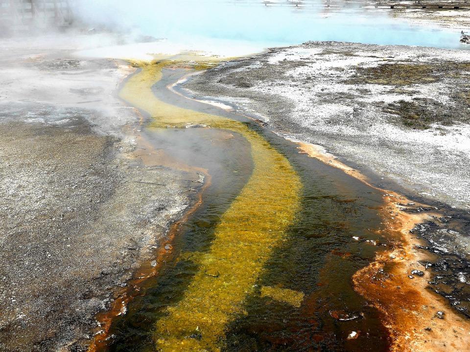 Nature, Yellow Stone, Usa, Gif, Hot