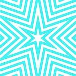 aqua, turquoise, geometric