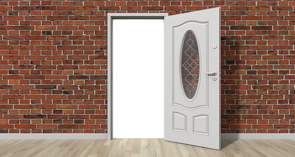 Door open wall free image on pixabay for Back door with window that opens