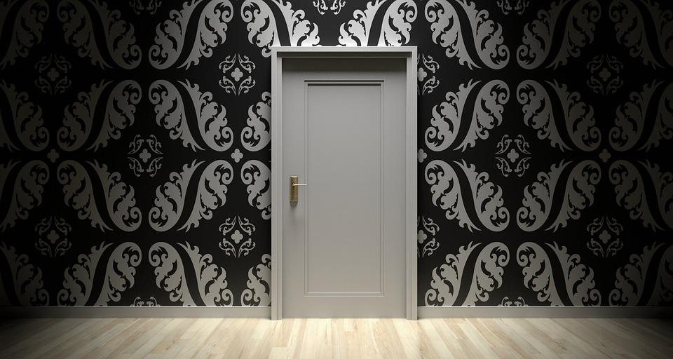 Door, Closed, Entrance, Room, Handle, Interior, Home