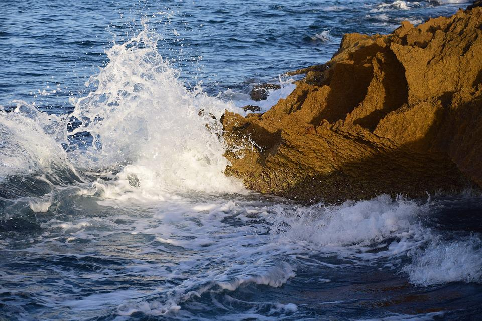 Rock Sea Water Free Photo On Pixabay