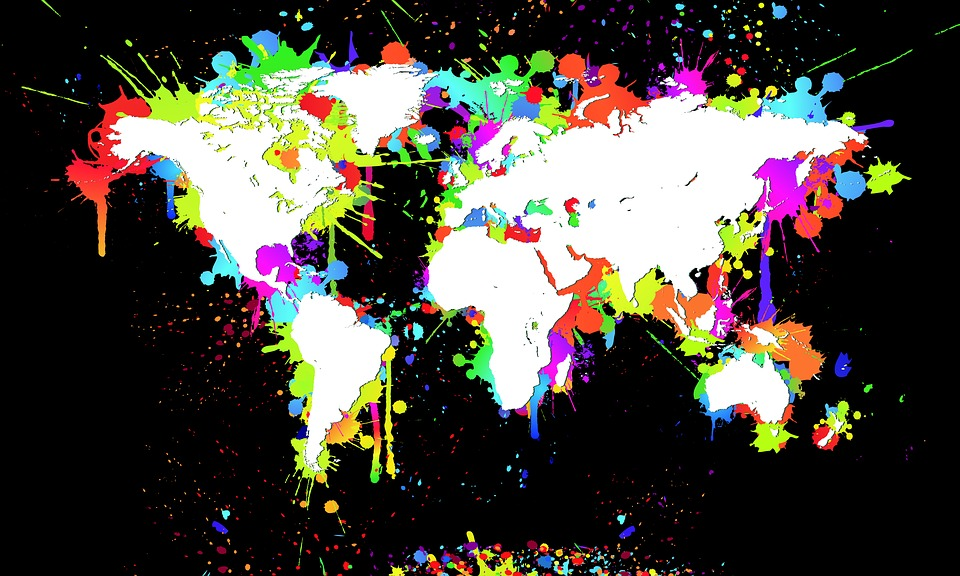 Free illustration world map map of the world white free world map map of the world white black splash gumiabroncs Images