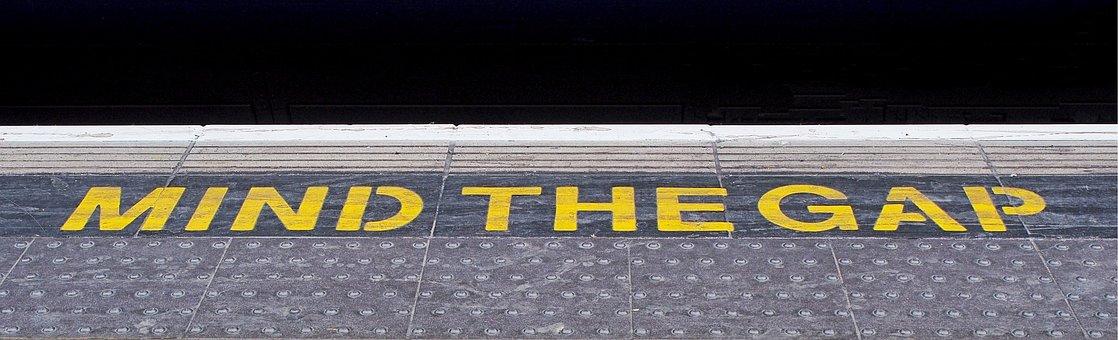 Railway, Platform, Mind, Gap