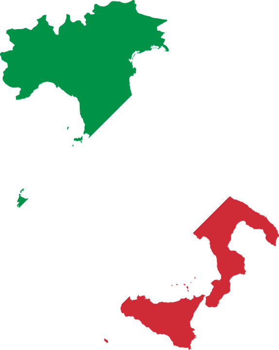 Italy Country Europe Flag Borders