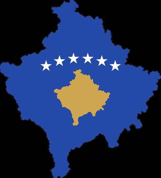 Kosovo Karte Europa.Kosovo Land Europa Kostenlose Vektorgrafik Auf Pixabay