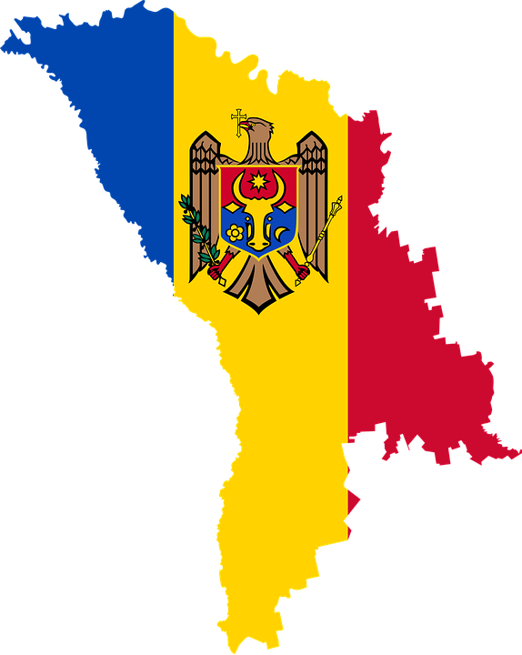 Free Vector Graphic Moldova Country Europe Flag Free Image - Moldova map vector