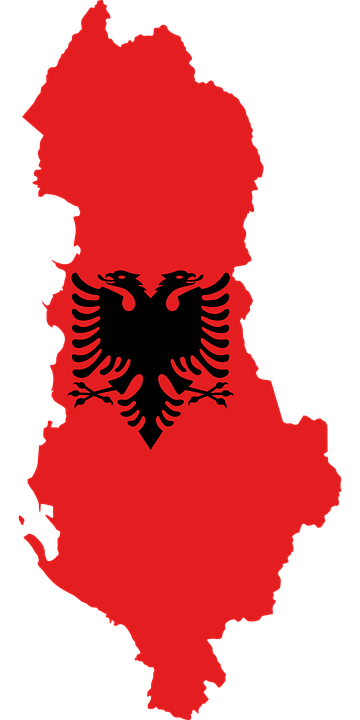 albania country europe 183 free vector graphic on pixabay