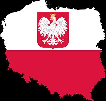 Polsko, Země, Evropa, Vlajka, Ohraničení
