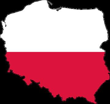 Poland, Country, Europe, Flag, Borders