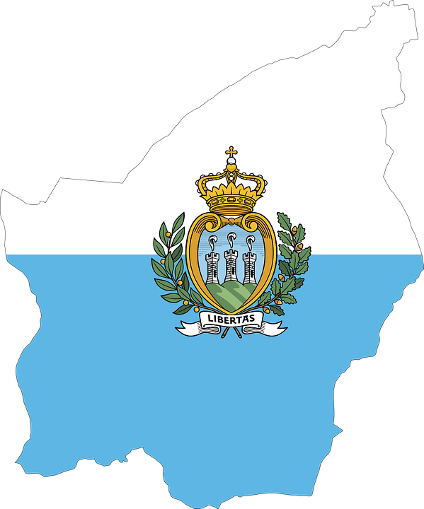 San Marino Country Europe Free vector graphic on Pixabay