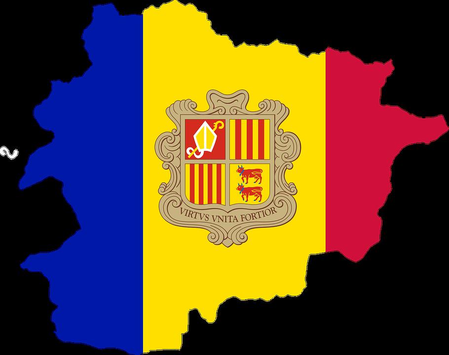 Andorra Flag Romania