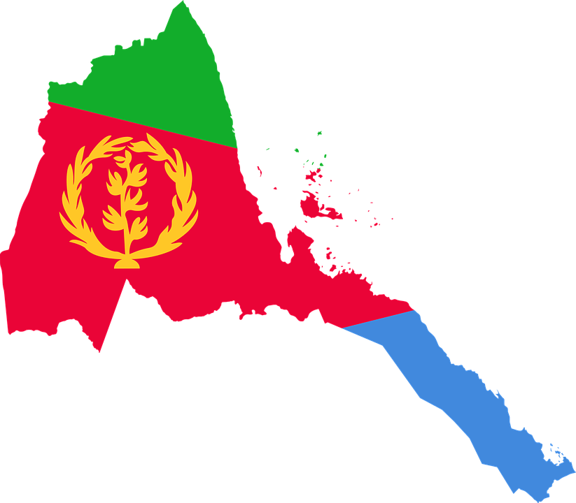 Eritrea flag map free vector graphic on pixabay eritrea flag map geography outline africa country gumiabroncs
