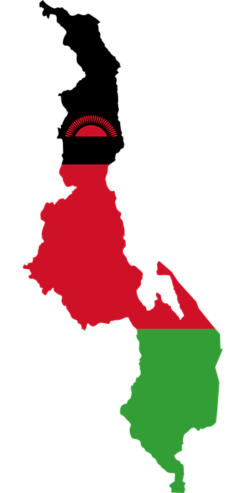 Free Vector Graphic Malawi Flag Map Geography Free Image On - Malawi map png