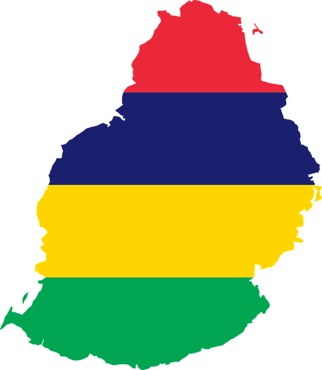 Mauritius Flag Map - Free vector graphic on Pixabay