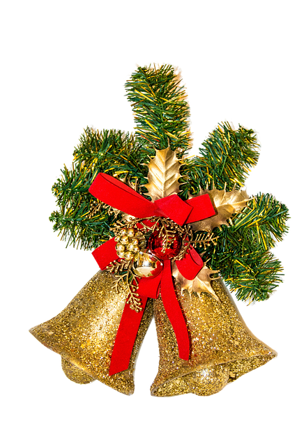 Free Photo Christmas Deco Bells Golden Free Image On