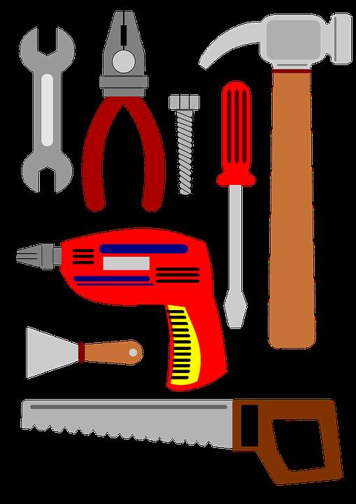 clip art hand tools free illustration tools to repair serra drill free image on
