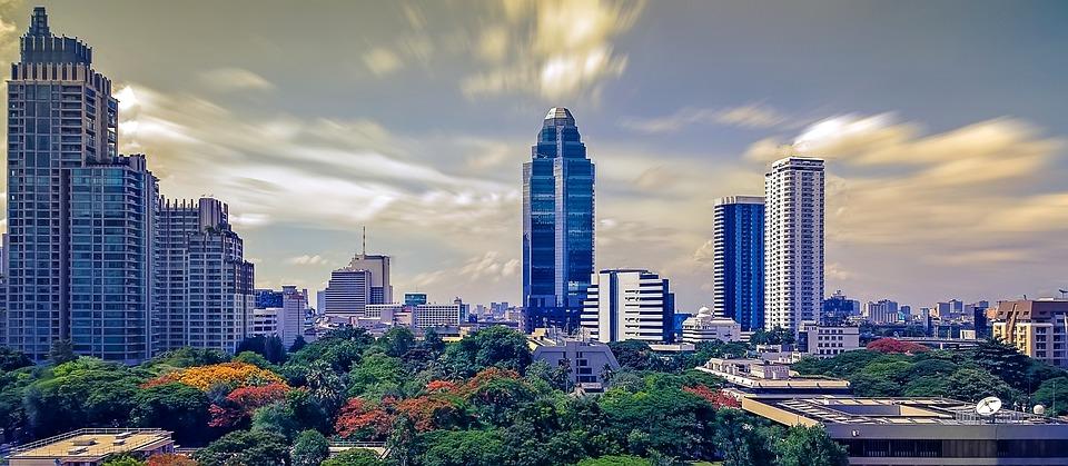 Bangkok, City, Thailand, Bangkok Thailand, Skyscraper