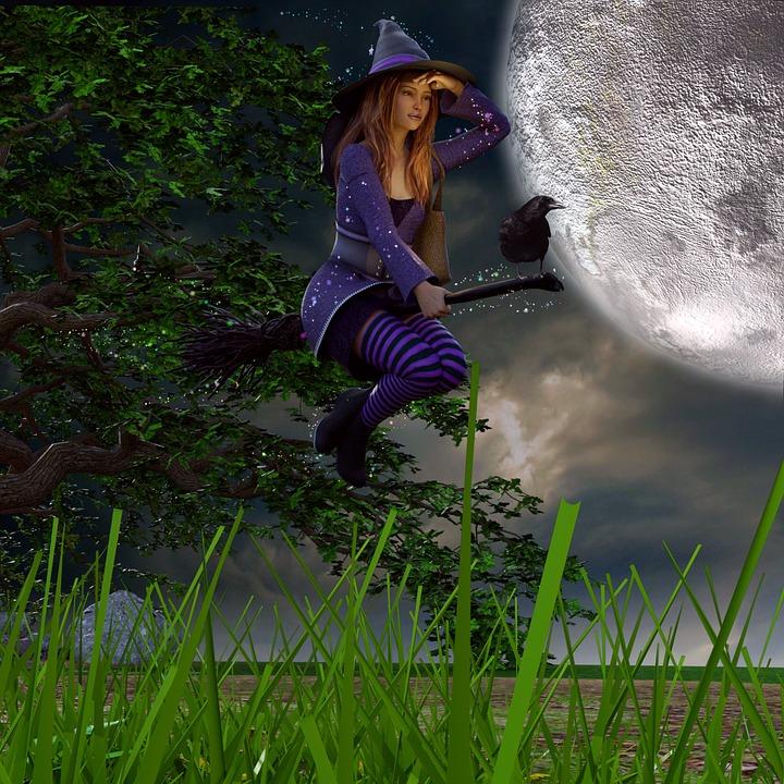 Hexe Besen Halloween Kostenloses Bild Auf Pixabay