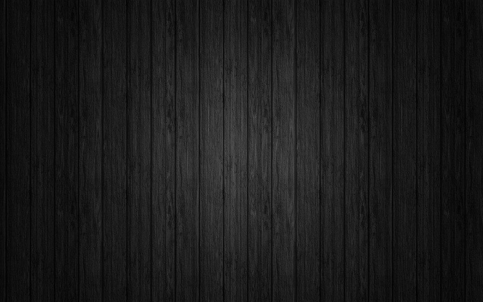 Wood Texture Dark Black Wall Background Wo