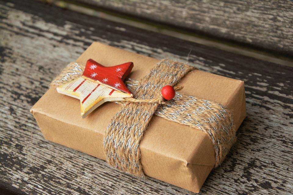 Cadeau, Colis-Cadeau, Noël, Emballés, Surprise, Donner