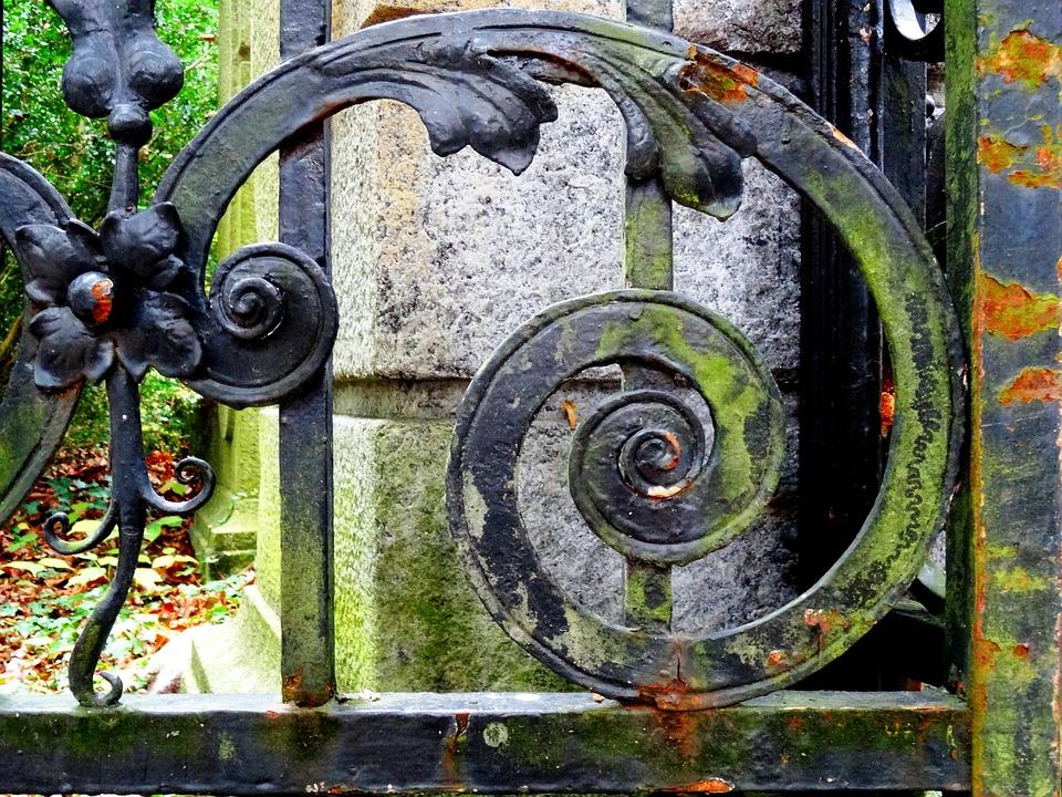 Ijzeren poort smeedijzer metalen · gratis foto op pixabay