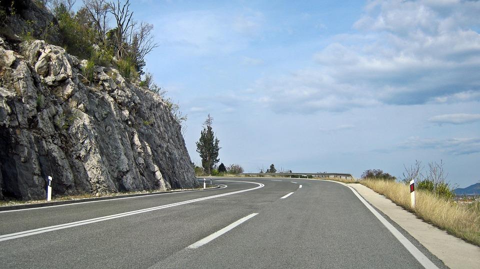 mountain road mountains free photo on pixabay